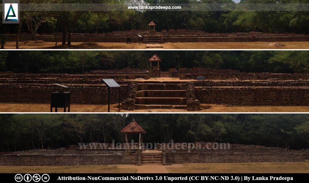 Panduwasnuwara Palace of Parakramabahu I