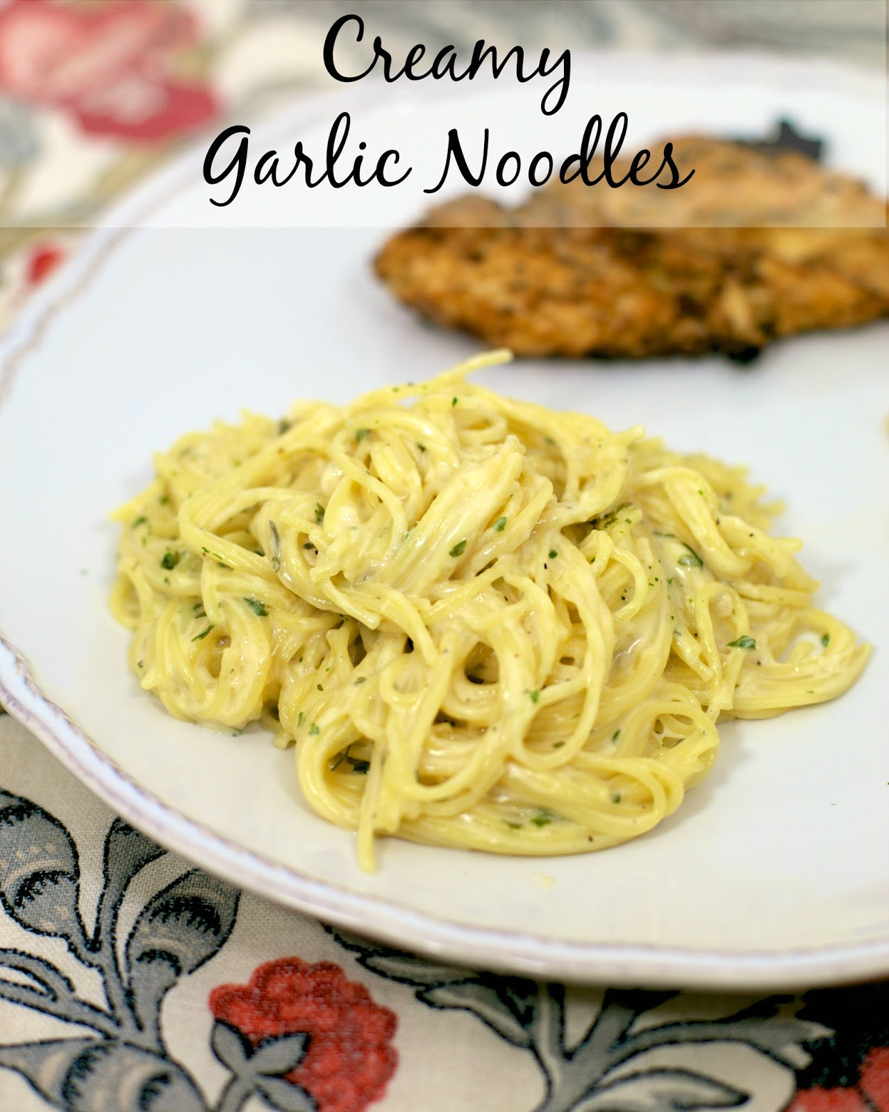 Creamy Garlic Noodles