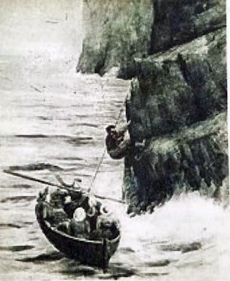Risking life To Live On St Kilda