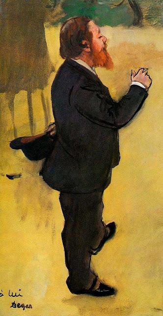 Эдгар Дега - Портрет Карло Пеллегрини (1876-1877)
