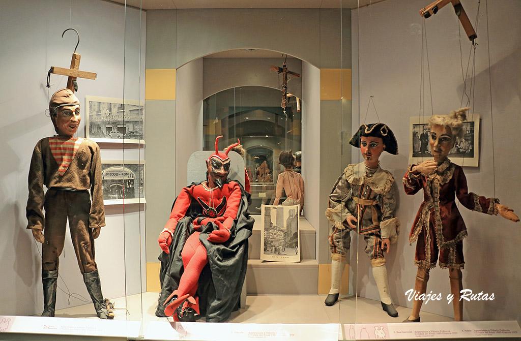 Castillo de marionetas o Museo Giordano Ferrari de Parma