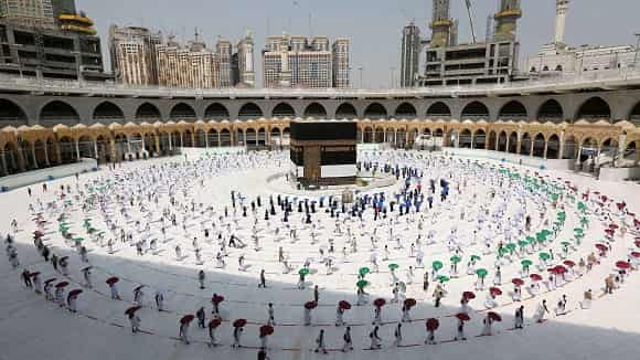 Restricting this year's Hajj pilgrimage to 60,000 people from inside the Kingdom - Saudi-Expatriates.com