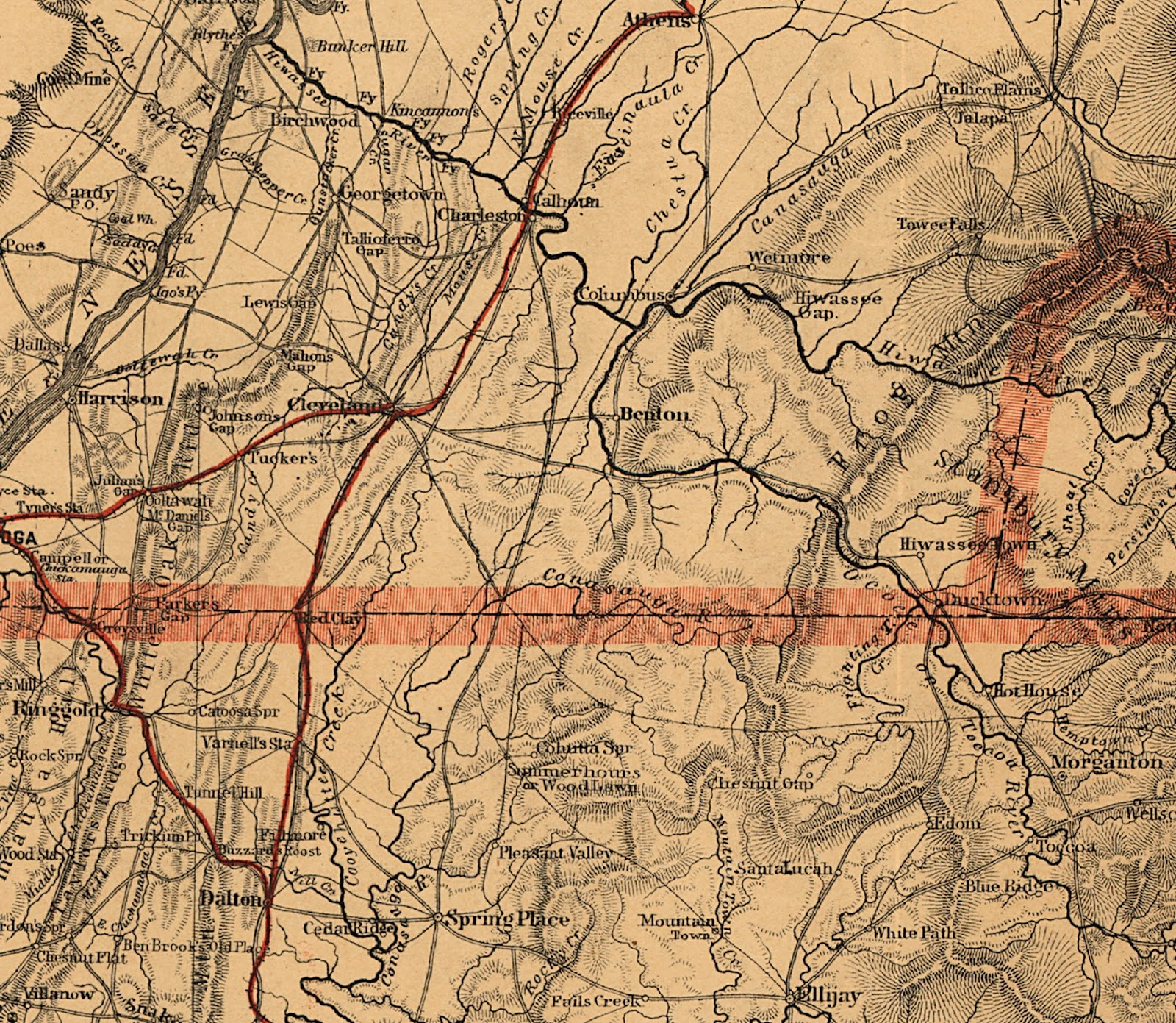 library of congress geography and map division mountain region of nc and tenn dtl columbus tenn area
