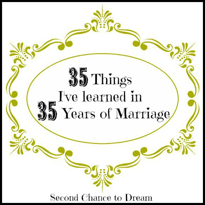 35 Things I've Learned in 35 Years of Marriage