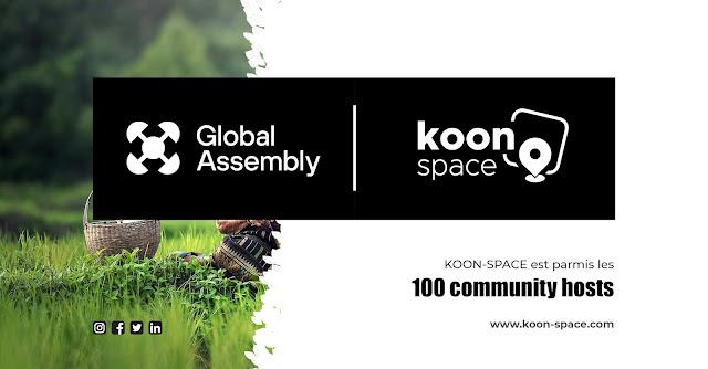 Global Assembly | KOON SPACE sarl parmi les 100 community hosts