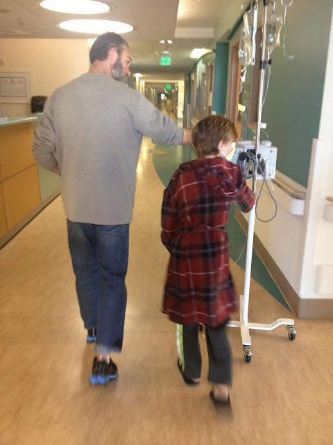 dad and childhood cancer survivor
