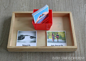 Physical Boundaries: Touch vs. No Touch Activity