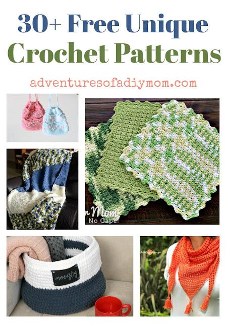 30+ free unique crochet patterns