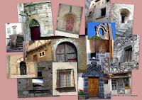 Photos de belles portes et fenêtres d'Auvergne