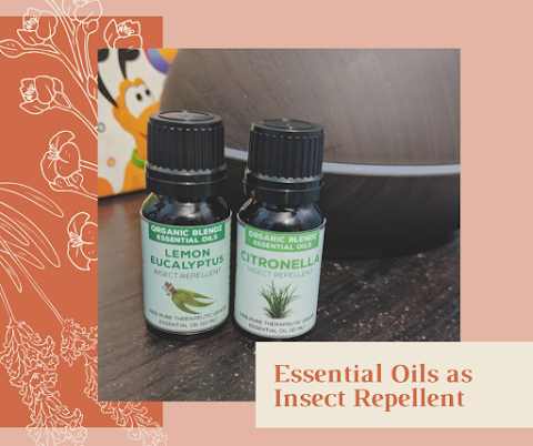 Organic Blendz Essential Oils as Insect Repellent