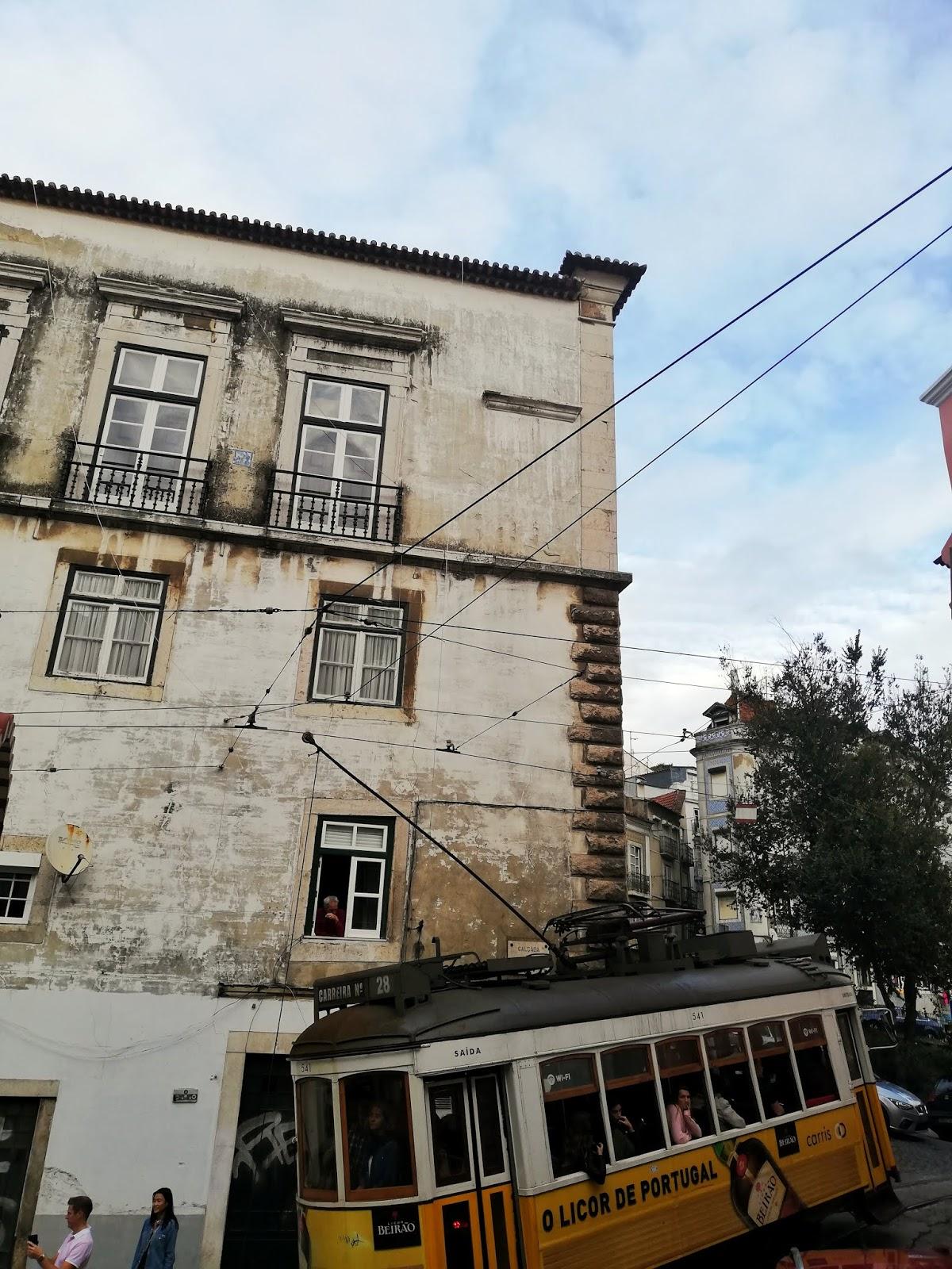 Tramway Lisbonne Alfama
