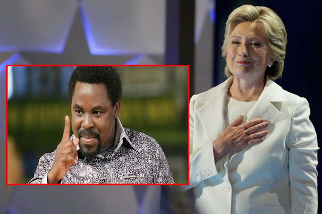 Hillary Clinton Will Win US Election, Says TB Joshua