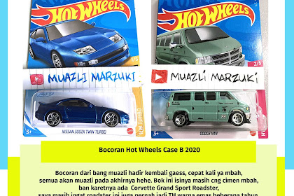 Bocoran Hot Wheels Case B 2021