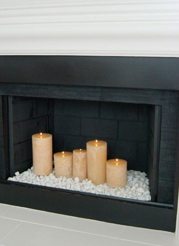 Ideas para decorar chimeneas en desuso-39