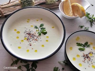 Receta de crema de melón o sopa de melón fría
