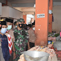 Jelang Lebaran, Dandim Dan Wakil Bupati Demak Pantau Harga Sembako Di Pasar Bintoro
