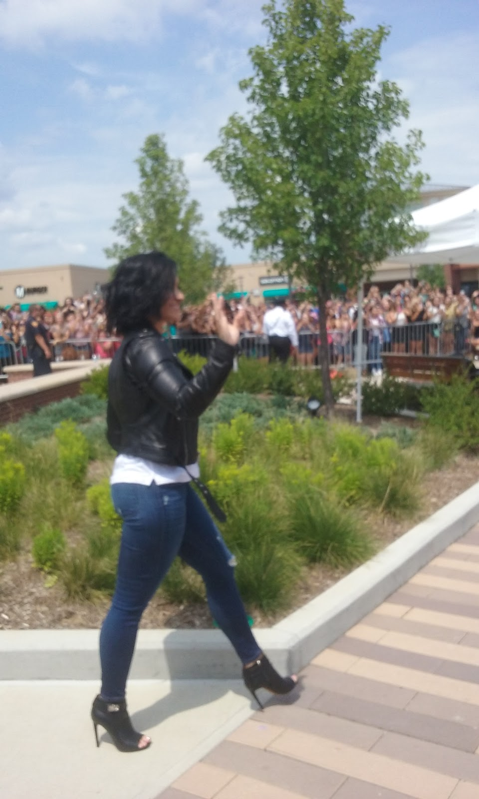 Raymonds ramble demi lovato nick jonas appear at chicago premium squad as i like to call them kept us entertained for another two hours until demi and nick arrived just after 1 pm that is when the madness ensued m4hsunfo