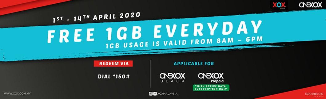 1GB Data Harian Percuma