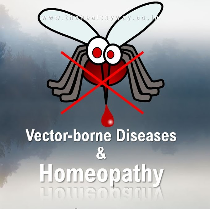 Role of Homeopathy in 5 most common Vector-borne Diseases in India