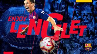 Clément Lenglet joins Barça