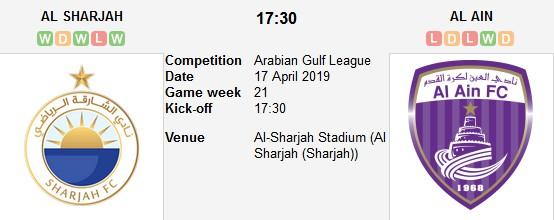 مشاهدة مباراة الشارقة والعين بث مباشر بتاريخ 03-10-2019 دوري الخليج العربي الاماراتي