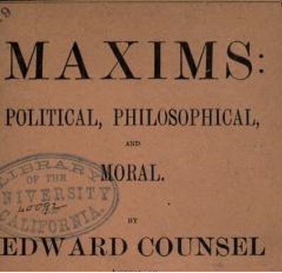 Maxims: political, philosophical, and moral PDF book