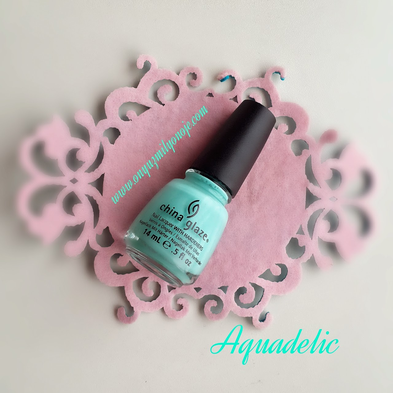 China Glaze Electropop Aquadelic