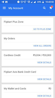 Flipkart Axis Credit Card For All User.