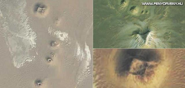 Műhold segítségével piramisokat fedeztek fel