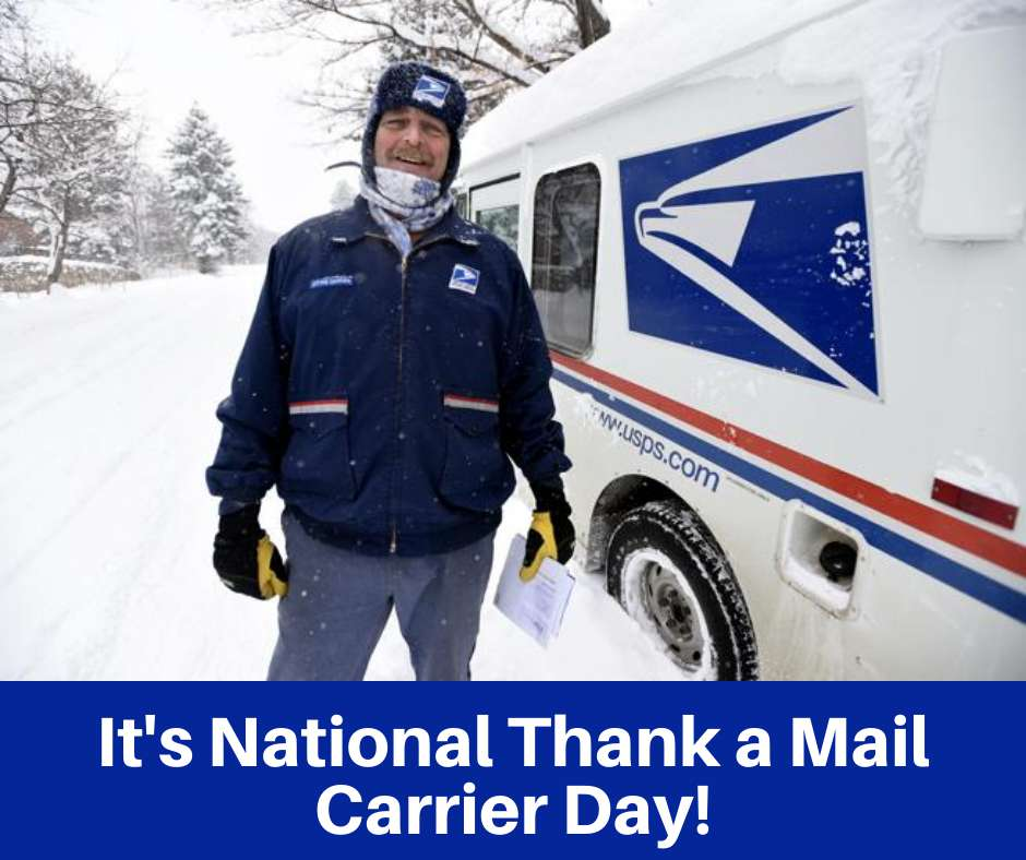 National Thank a Mail Carrier Day Wishes Photos