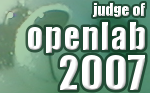 Openlab 2007 Judge