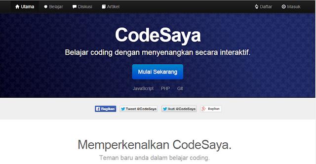 Codesaya web design