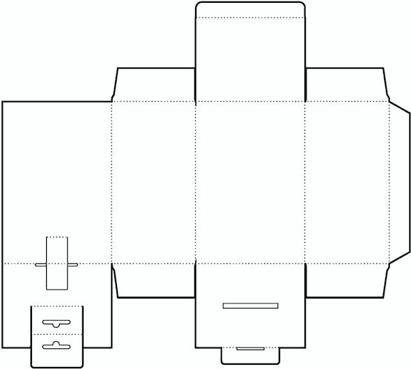 Moldes limpos de sacolinhas caixinhas etc para for Cylinder packaging template