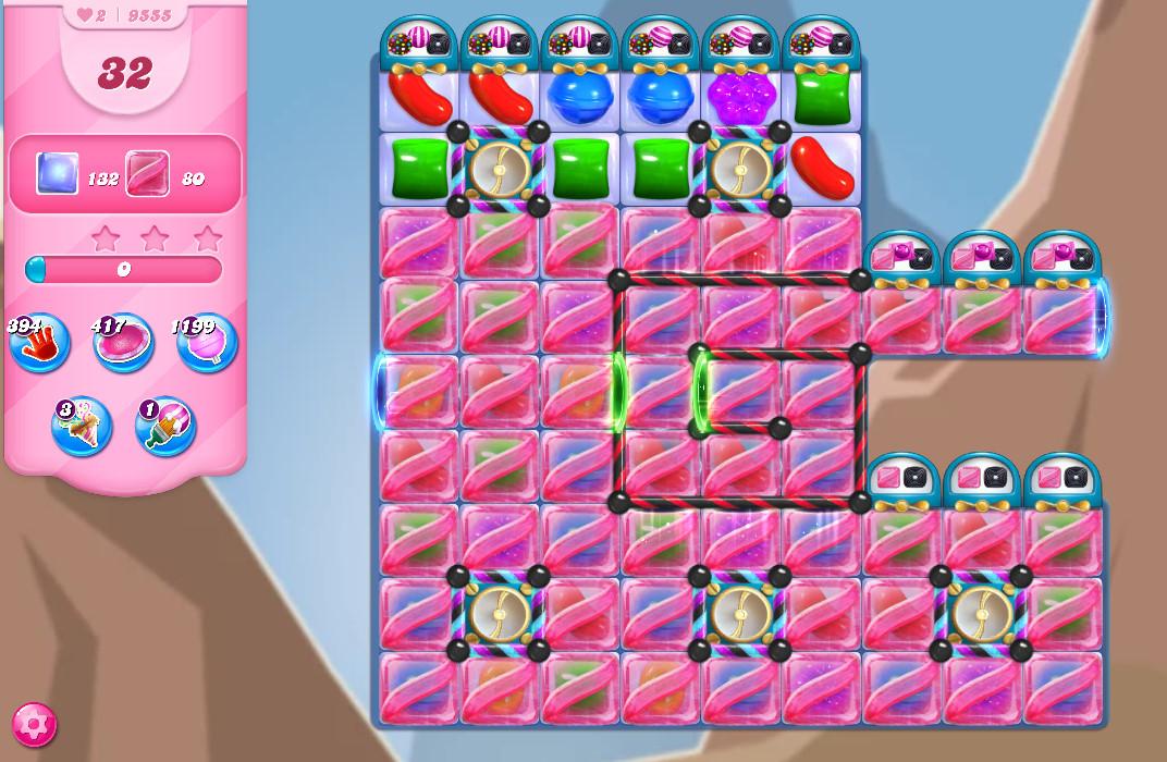 Candy Crush Saga level 9555