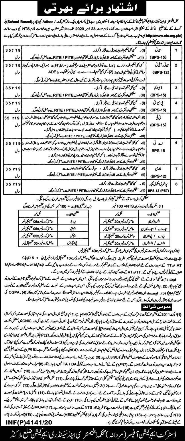 NTS Jobs 2020 Application Form Download, CT, PST, PET & Others