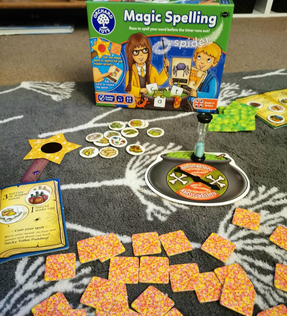 Back To School With Orchard Toys - Magic Spellings Educational Games Review