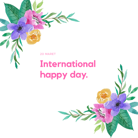 International Happy Day. Sudahkah kamu bahagia?