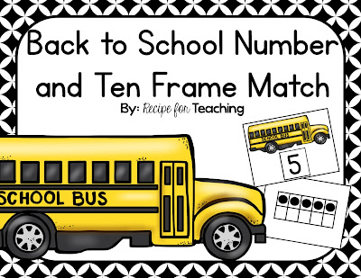 https://www.teacherspayteachers.com/Product/Back-to-School-Number-and-Ten-Frame-Match-1984281
