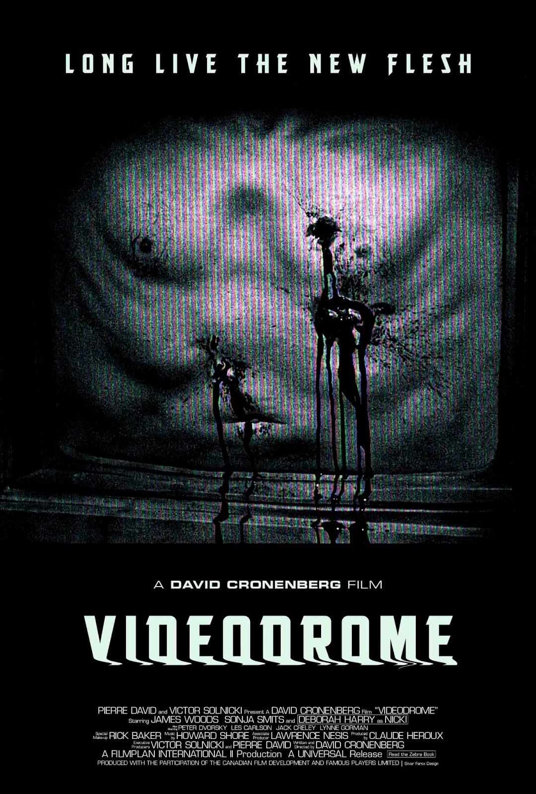 Silver Ferox Design Videodrome David Cronenberg 1983