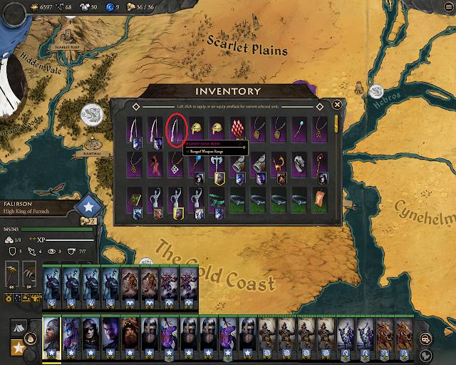 Blood Oak Bow Screenshot - Fantasy General 2: Invasion
