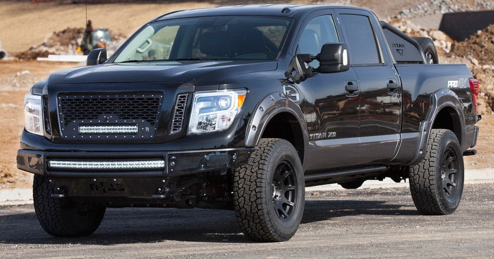 Nissan 5 0 Cummins >> Nissan Motorsports Bringing Angry Titan XD Pro-4X At The Chicago Auto Show