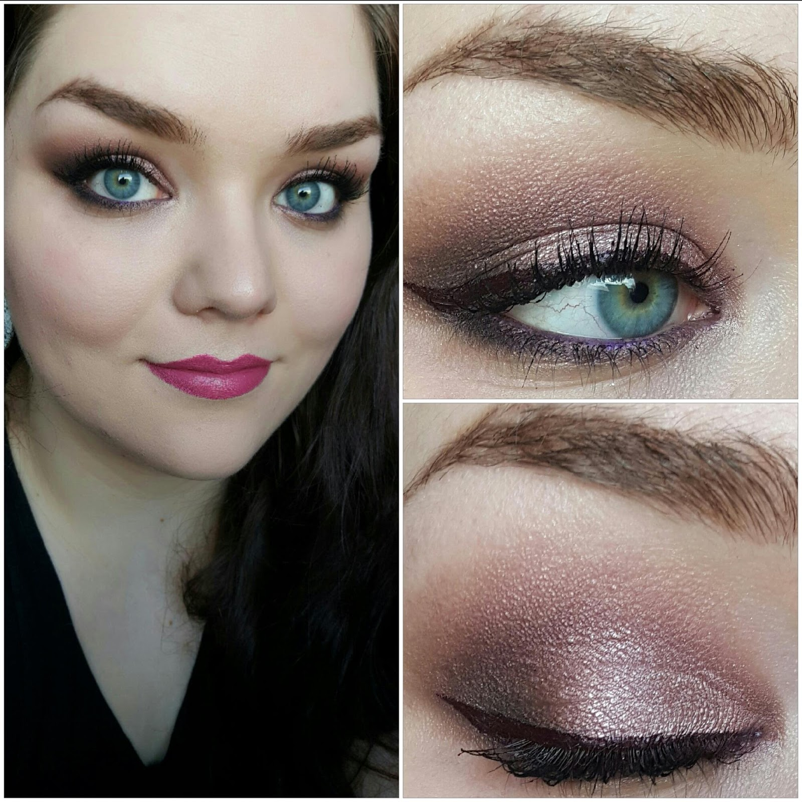 The Naked Series: Rosy Smoky Eye FT Urban Decay Naked 3 ~ The ...