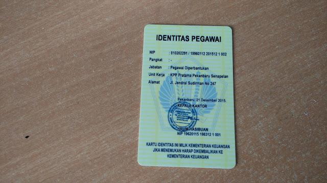 Kartu Identitas Pegawai