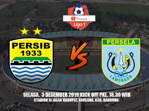 Persib VS Persela 3 Desember 2019