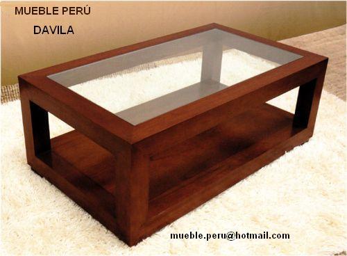 Muebles pegaso mesas de centro for Muebles de madera peru