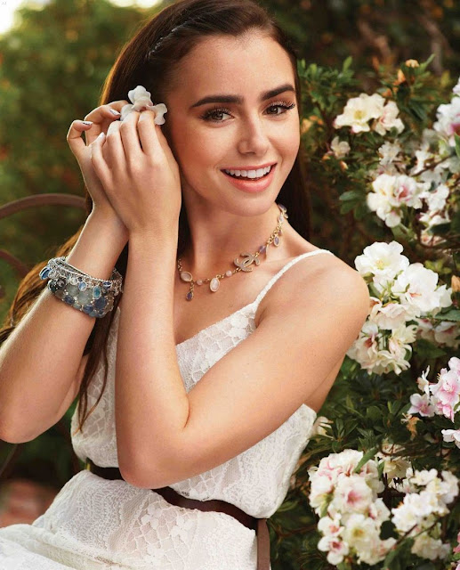 Lily Collins Young British-American Actress and Model ...