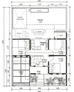 Desain Rumah Kekinian dengan Gazebo