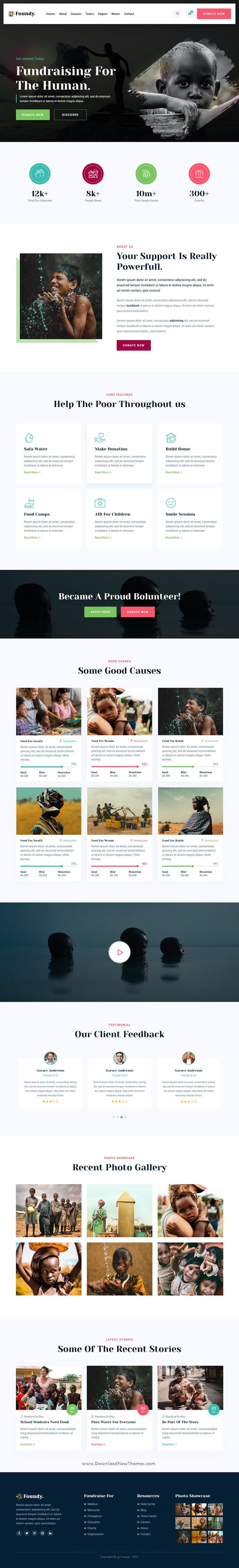 Nonprofit Charity Bootstrap Template