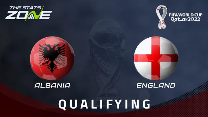 مشاهدة مباراة ألبانيا و إنجلترا بث مباشر