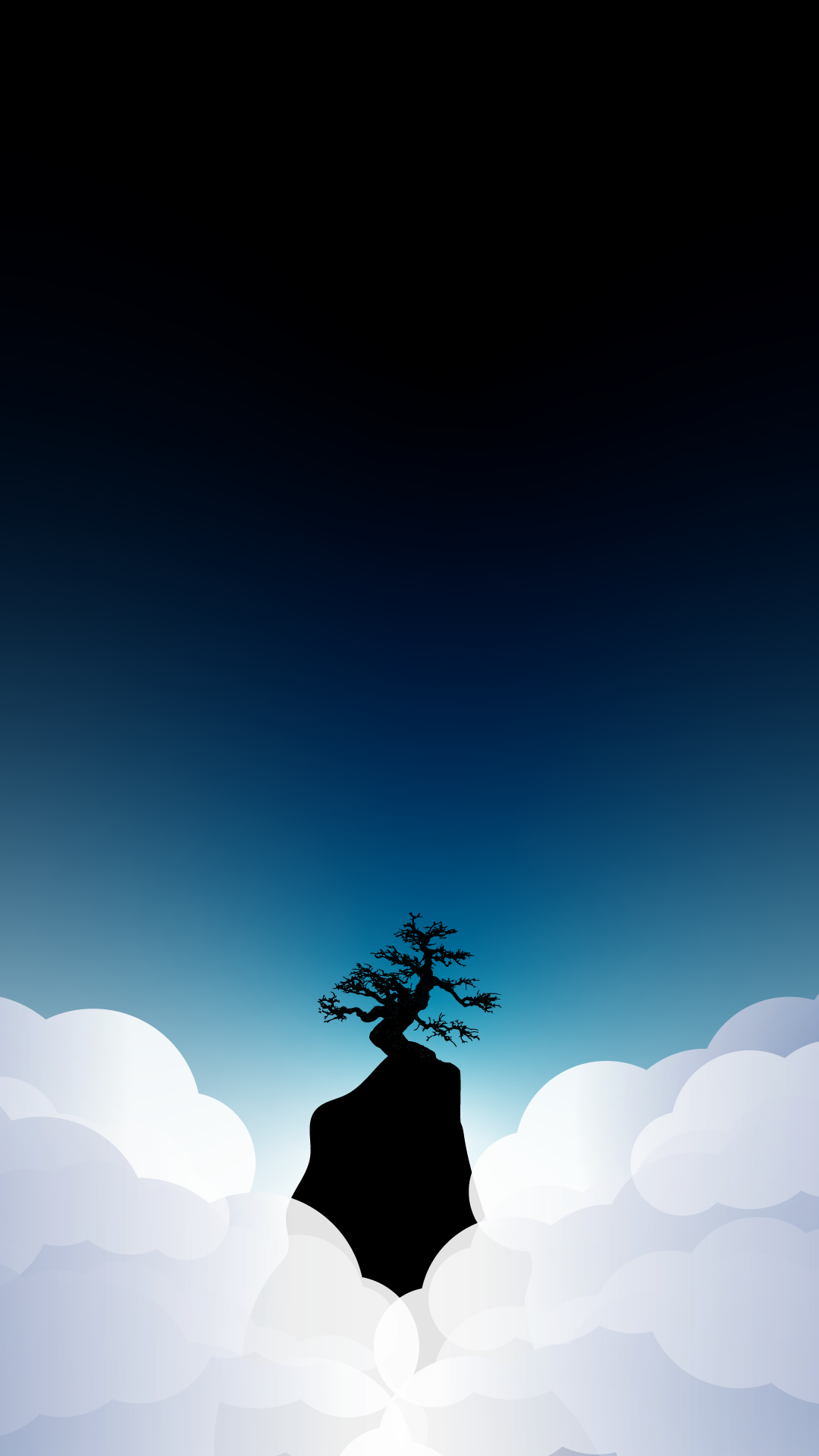 Iphone Wallpaper Hd 4k Tree In The Clouds Heroscreen Cool Wallpapers
